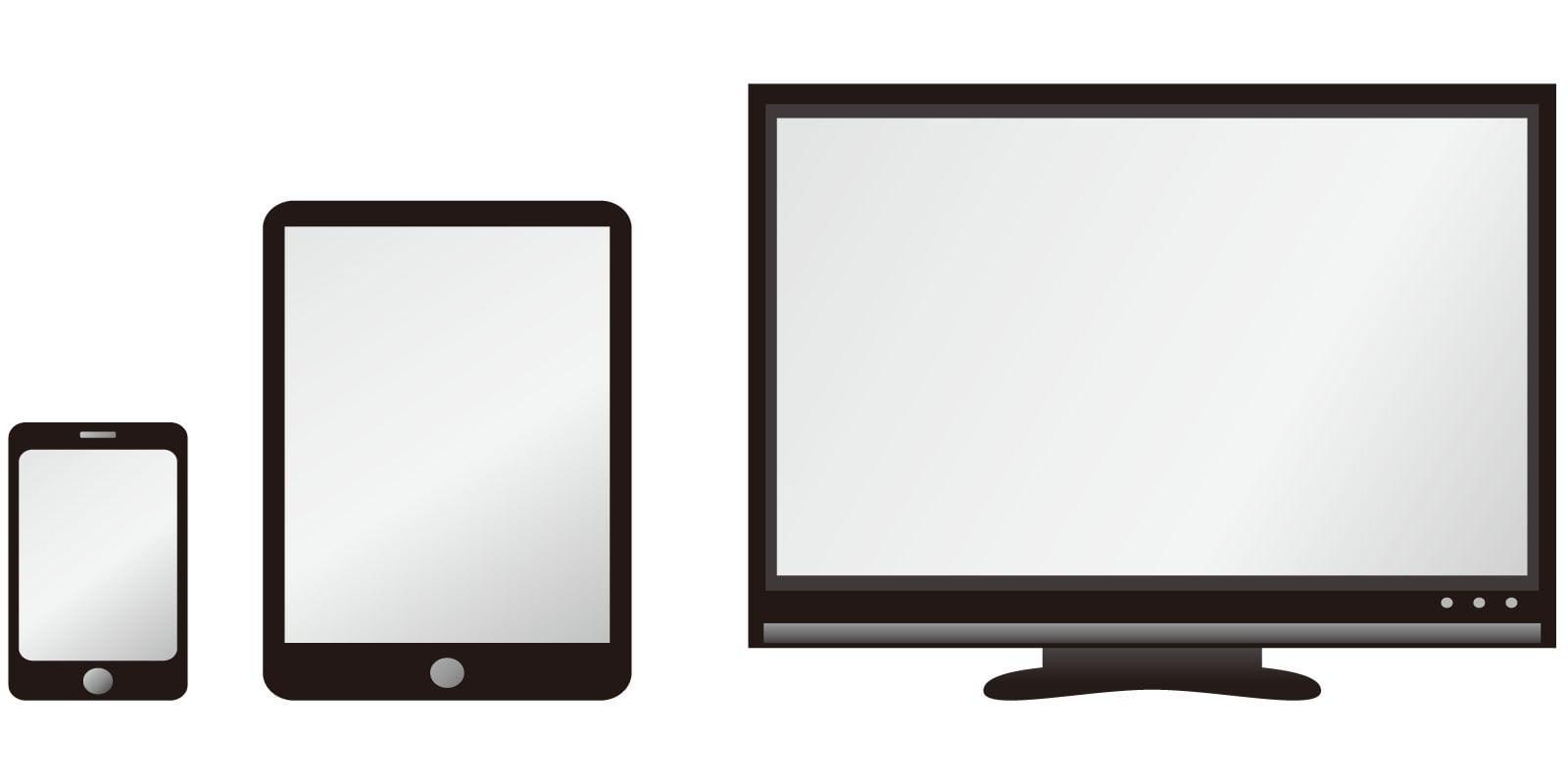 動画配信サービスの対応デバイス